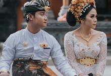 "Krisma & Happy Balinese ""Ngidih"" Ceremony by Lentera Wedding"