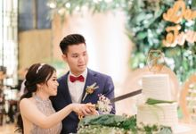 Daniel & Ivany by Ame Cakery