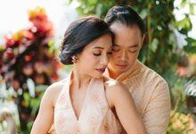Thalia & Joseph Tea Pai by SVARNA by IKAT Indonesia Didiet Maulana