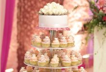 Wedding Cup Cakes by LeSoho Cupcakes