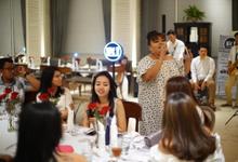 Tasya ❤️ Majo Wedding Dinner by @letsgodego