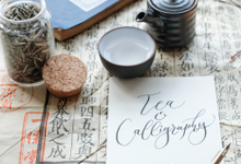 Tea and Calligraphy by Letter By Bee