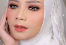 Moslem Bride by Leyla Makeup Art