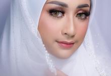 Muslim bride by Leyla Makeup Art