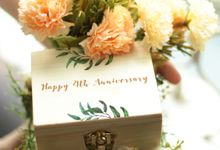 Personalized Wooden Ring Box by Roopa