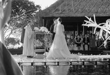 Le bali Wedding by andreaslee photography