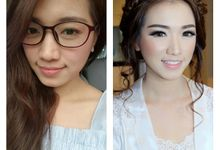 BRIDES BEFORE AFTER by Andriani Dewi MUA