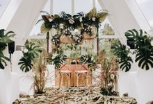 The Wedding of Lidia Dhany by Elior Design