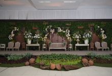 Eco Decoration On NINDI & UKA Wedding by FAM Organic