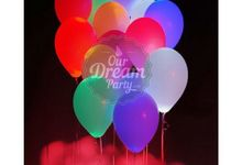 Light-Up Balon by Our Dream Party