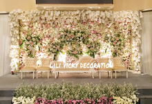 The Wedding of  Amanda & Zhihui // 01 oktober 2017 by Lili Vicky Decoration