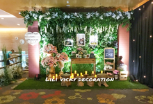 The Wedding of Biondi & Stefanie by Lili Vicky Decoration