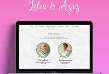 Wedding Invitation Lilis & Aziz by Hadiryaa (Web & Mobile Invitation)