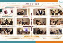 Lim & Tiara Virtual Online Wedding Live Streaming Reception by Truevindo