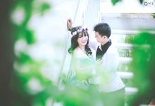 Prewedding Phen & Via by IwanLimPhotography