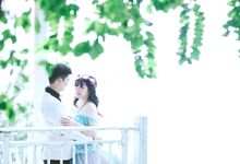 Prewedding Phen & Via by IwanLimPhotography