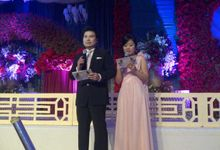 Wedding of Santo & Evelyn by MC Mandarin Linda Lin