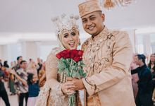 Wedding Day of Indah & Septria by A Story