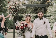 Lisa & Tyson by Tropica Weddings