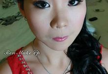 Bridesmaid Make Up for Mrs.Asiong by Ren Makeup Artist