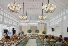 Disha & Dika Wedding at Gedong Putih by PRIDE Organizer
