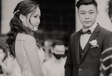 J&J's Actual Day Wedding at Fullerton Bay Hotel by Jen's Obscura (aka Jchan Photography)