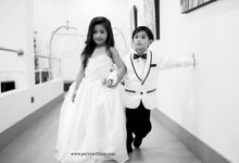 Little Groom and Bride by Perry William Photography