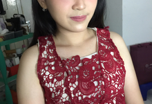 Ms. Monic Engagement by Livia Eletra Makeup Artist