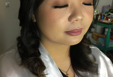 Ms. Stella Wedding by Livia Eletra Makeup Artist