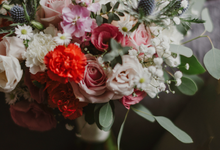 Reena & Paul's Rustic Wedding by Liz Florals