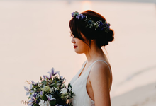 Whimsical Lavender Theme Prewedding by Liz Florals