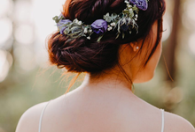 Whimsical Lavender Theme Prewedding by Liz Florals