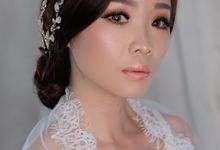 Wedding Makeup by Jannete williams