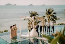 Laura and James wedding at Conrad Koh Samui by BLISS Events & Weddings Thailand