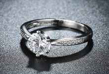 Tiaria Romantic Engagement Ring Design 29 by TIARIA