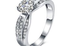 Tiaria Romantic Engagement Ring Design 30 by TIARIA