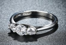 Tiaria Romantic Engagement Ring Design 31 by TIARIA