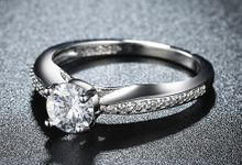 Tiaria Romantic Engagement Ring Design 33 by TIARIA