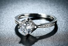 Tiaria Romantic Engagement Ring Design 34 by TIARIA