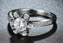 Tiaria Romantic Engagement Ring Design 36 by TIARIA