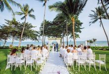 Wedding at Centara grand beach resort Samui by BLISS Events & Weddings Thailand