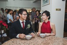 Actual Day Wedding of Luke and Huiyi by Susan Beauty Artistry