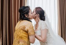 The Wedding Day Of Chandra & Silvi ❤️ by Favor Brides
