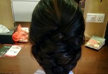 Hair Up Do by DinkDink Hairdo