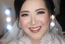 Yevi Wedding by Loresa Mua