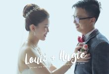 Louis & Angie - Wedding Actual Day Cinematic Video by Aplind Yew Production - Wedding Cinematography & Photography
