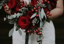 Red and Blue Wedding by Lovemedecor.id