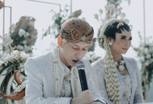 Modern intimate wedding by Lovemedecor.id