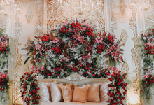 Traditional red by Lovemedecor.id