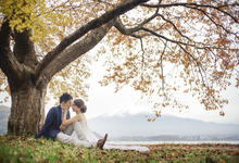 Agus & Via Japan Autumn by Loxia Photo & Video